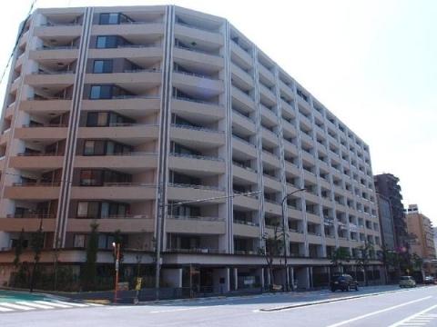 マジェスティハウス新宿御苑パークナード 外観パース