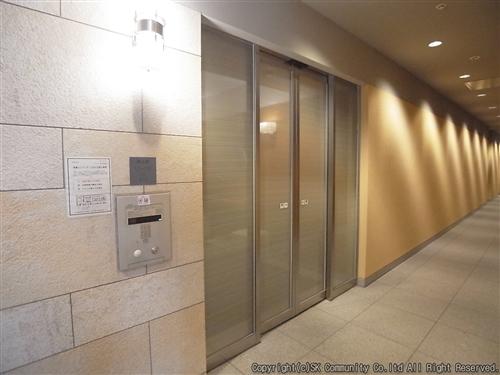 高層階エレベーター