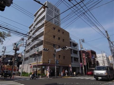 所在地 東京都渋谷区本町6-35-4交通 京王線/幡ヶ谷 徒歩5分総戸数 34戸/階建 8階建-