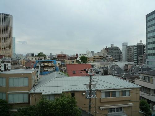 都心の高台からの眺めは素晴らしいです